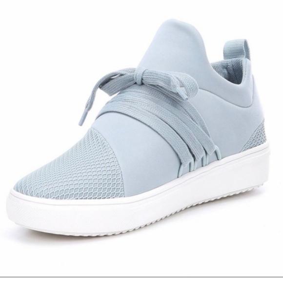 Steve Madden Lancer Blue Sneakers